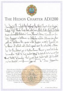 Hedon Charter