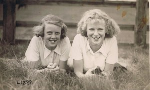 Brenda W. and Zita M. Pickering, 1937