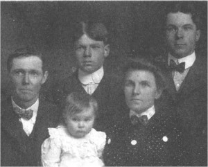 Robert Lewis Pickering family