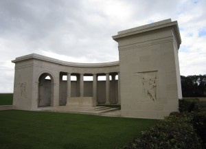 Louverval Memorial, France, 2012