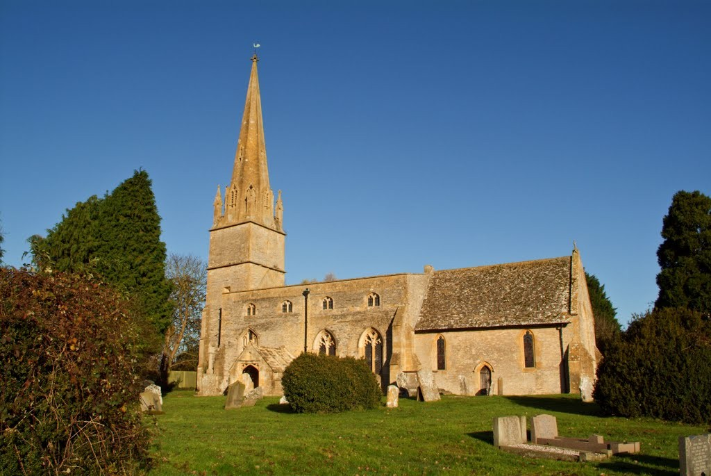 Honeybourne church Photo: yblogmd