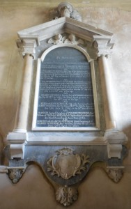 Sir Gilbert Pickering family memorial