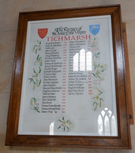 Titchmarsh rectors 1224-2007