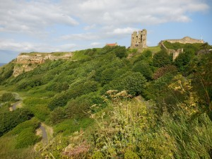 Scarborough castle, N. Yorks., 2015