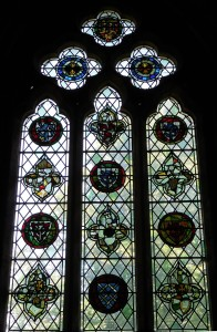 Ellerton window in Selby Abbey, 2015