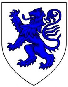 Skelton de Brus arms