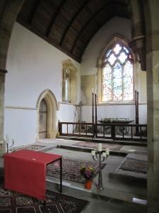 former altar