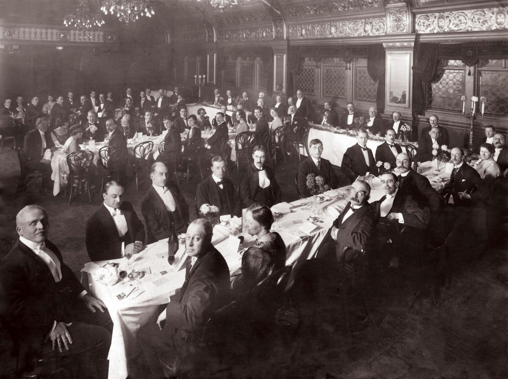 Institution of Engineers, Australia, dinner, c1925