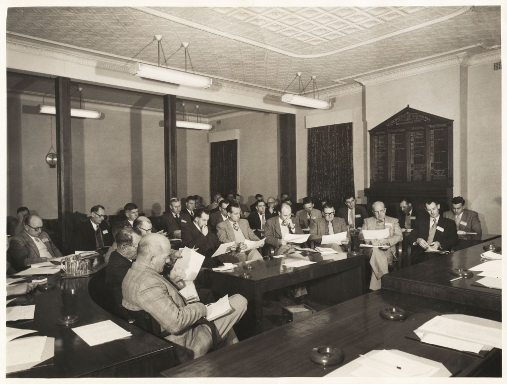Katoomba Municipal Council meeting, c1970