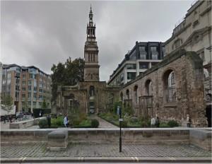 Christ Church Greyfriars today