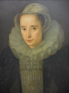 Hester Pickering c1580 portrait and detail