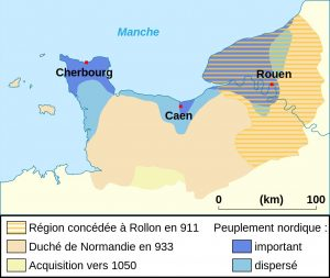 Duchy of Normandy, 911-933