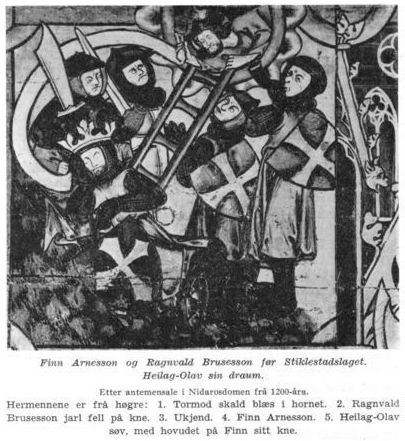 King Olaf's dream before the battle of Stiklestad