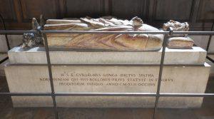 William I grave and effigy, Rouen 2016